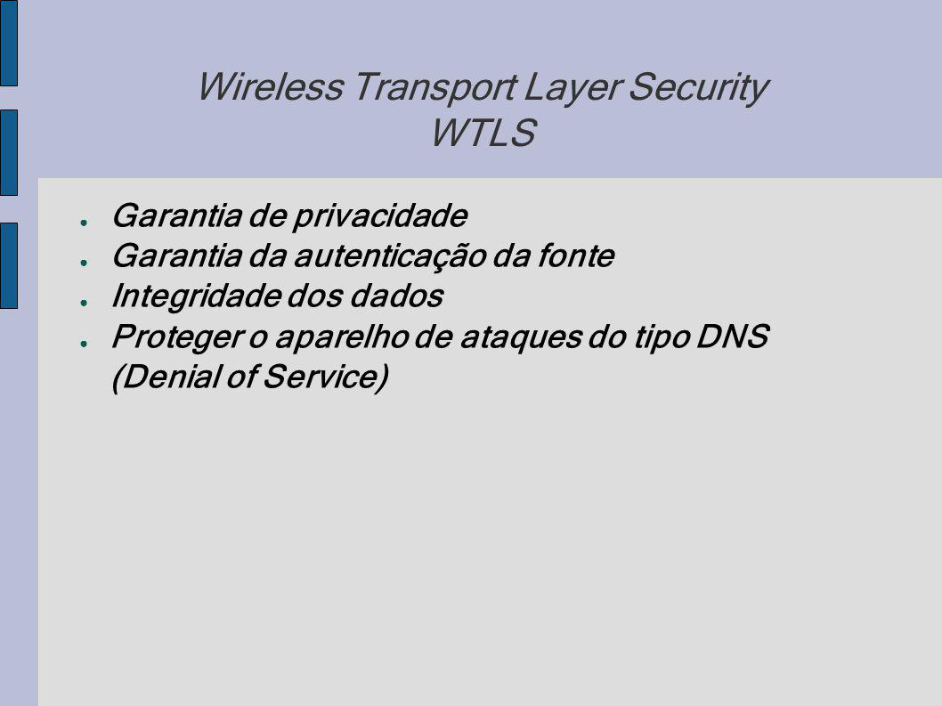 Wireless Transport Layer Security WTLS