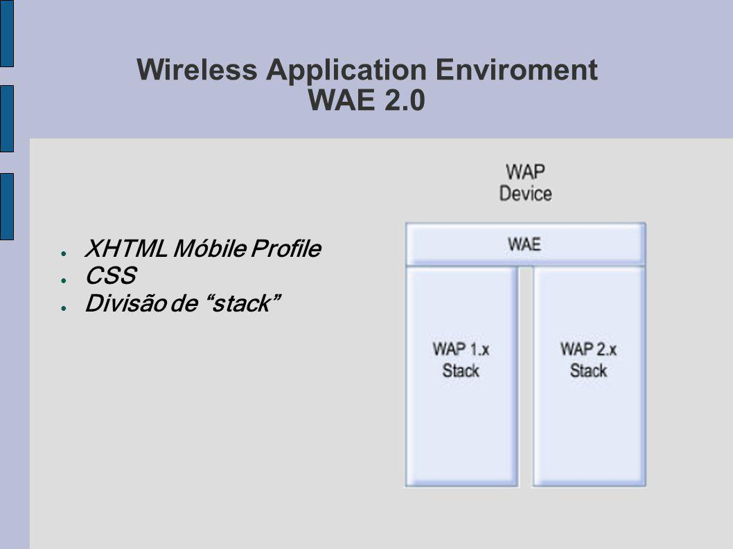 Wireless Application Enviroment WAE 2.0