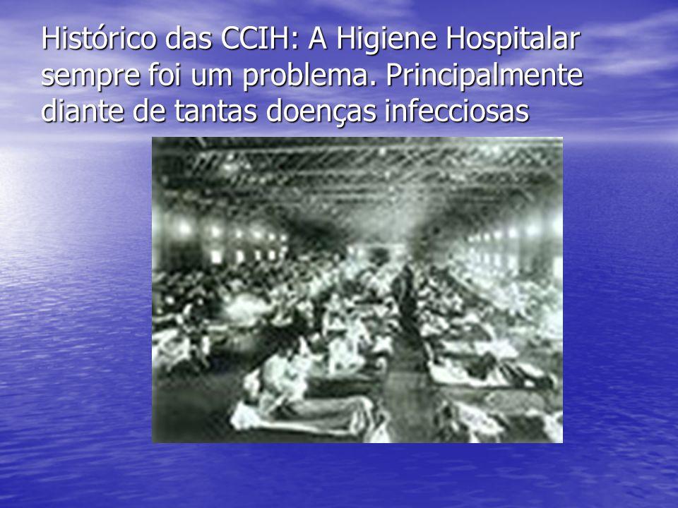 Histórico das CCIH: A Higiene Hospitalar sempre foi um problema