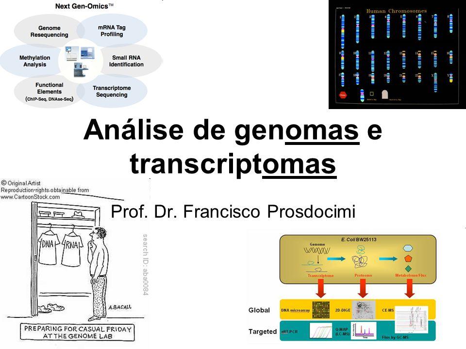 Análise de genomas e transcriptomas