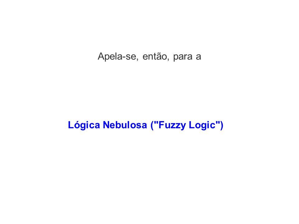 Lógica Nebulosa ( Fuzzy Logic )