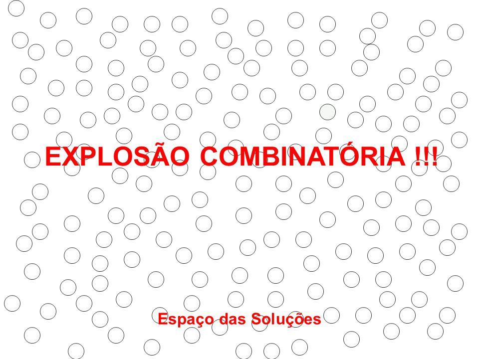 EXPLOSÃO COMBINATÓRIA !!!