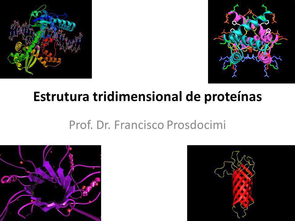 Estrutura tridimensional de proteínas