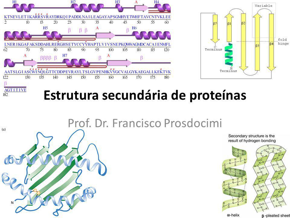 Estrutura secundária de proteínas