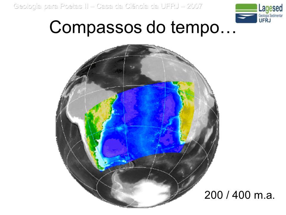 Compassos do tempo… 200 / 400 m.a.