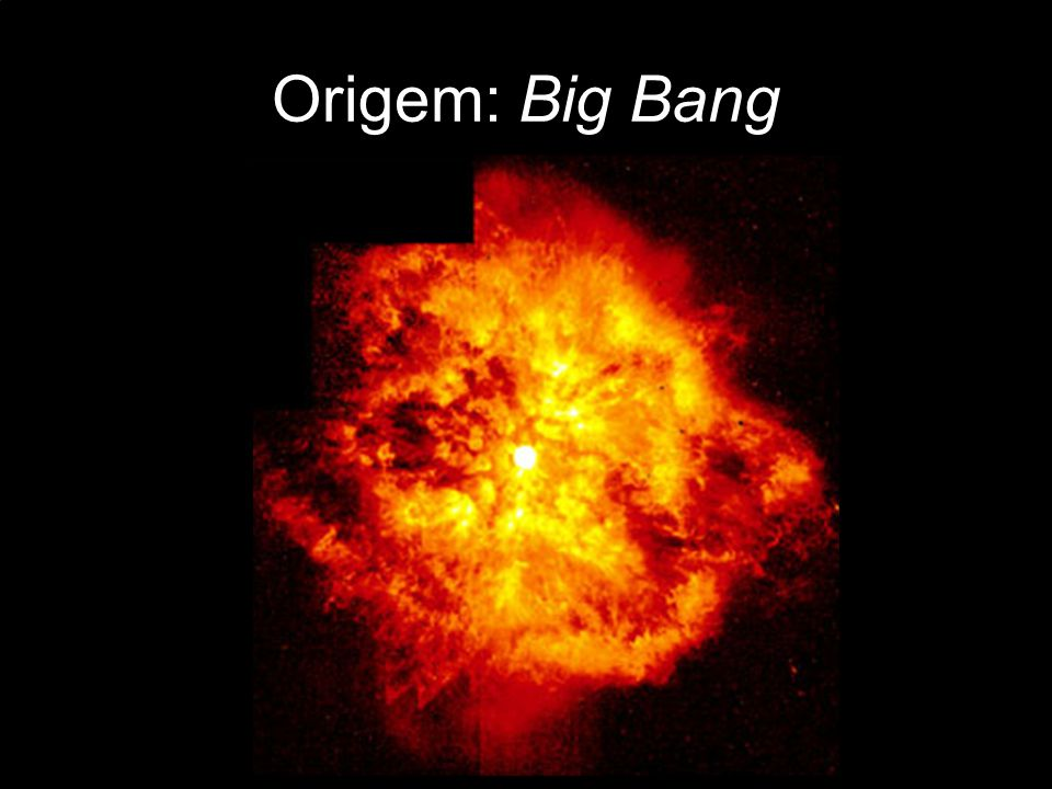 Origem: Big Bang