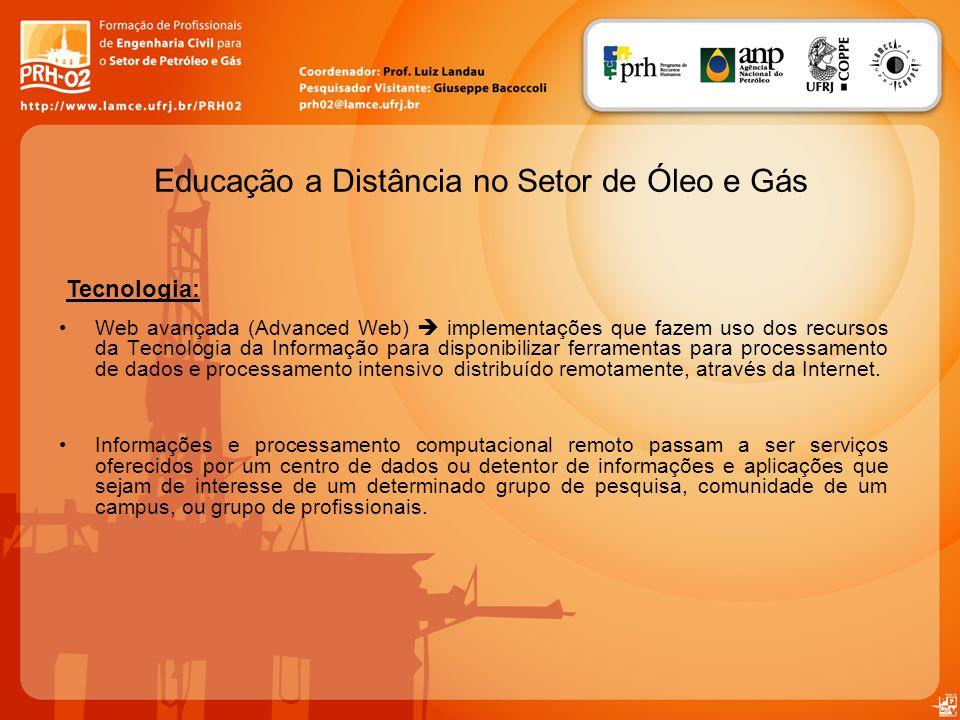 Educação a Distância no Setor de Óleo e Gás