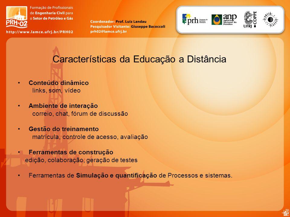 Características da Educação a Distância