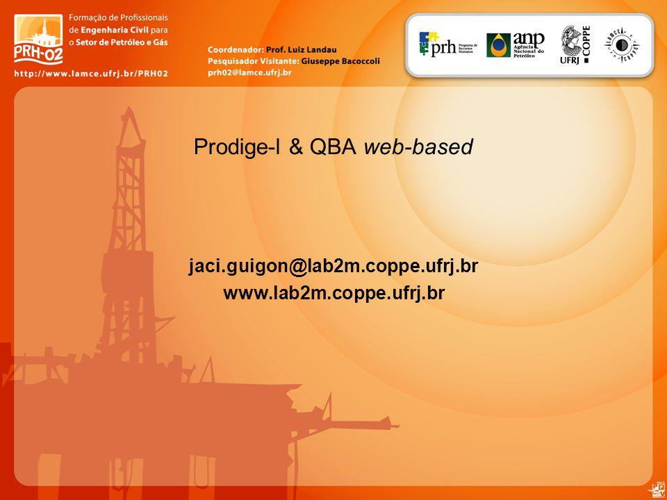 Prodige-l & QBA web-based