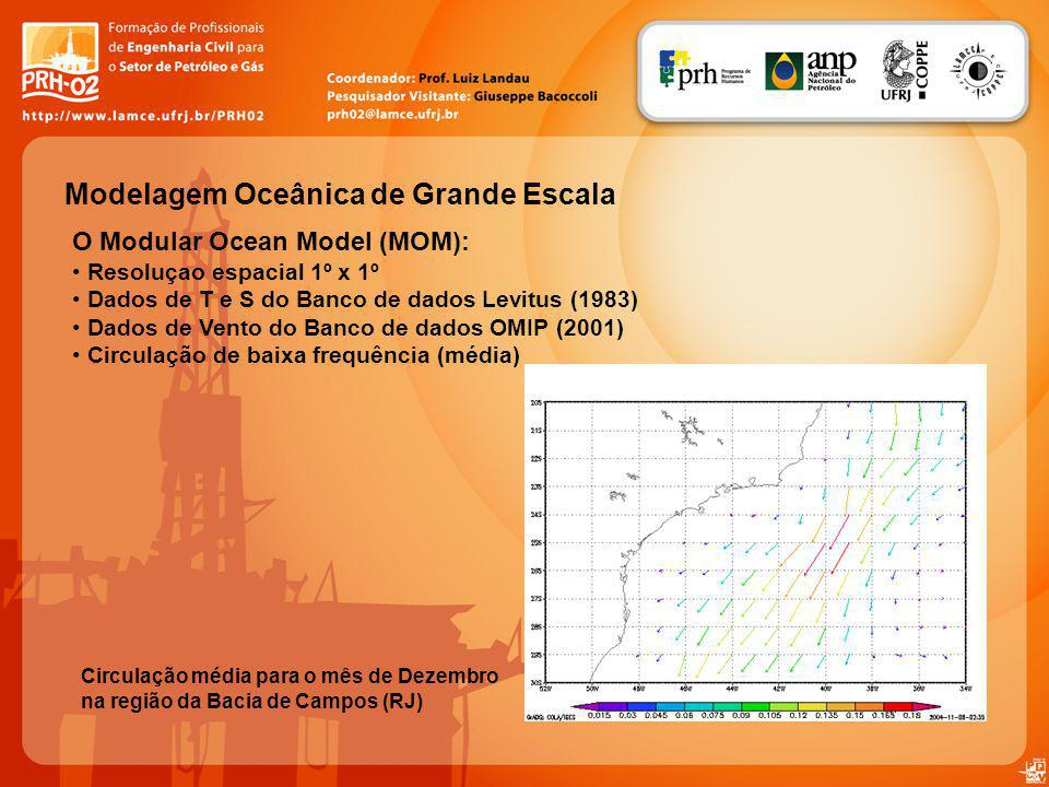 Modelagem Oceânica de Grande Escala