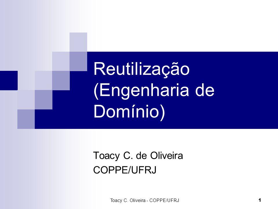 Reutilização (Engenharia de Domínio)