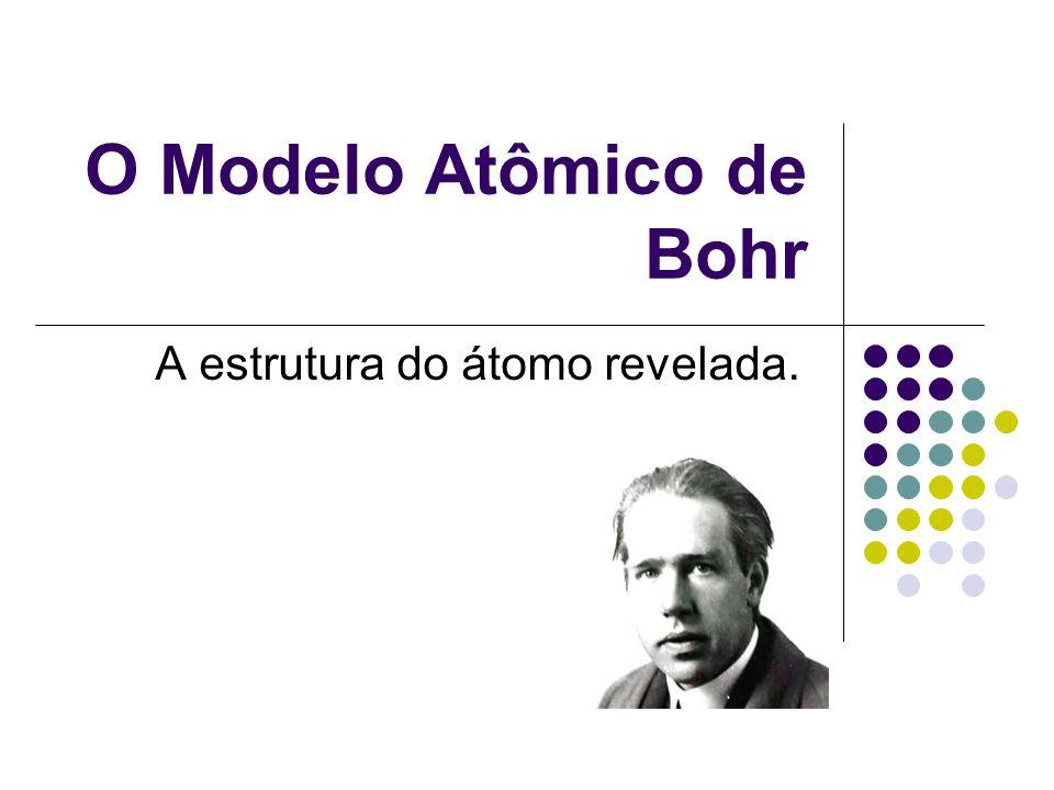 O Modelo Atômico de Bohr