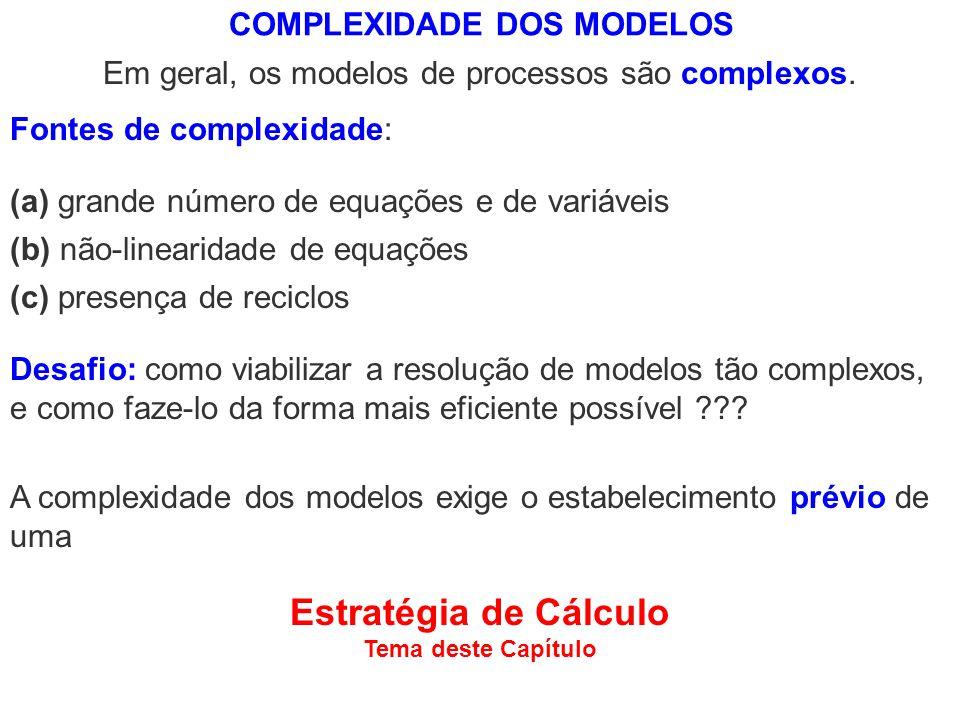COMPLEXIDADE DOS MODELOS