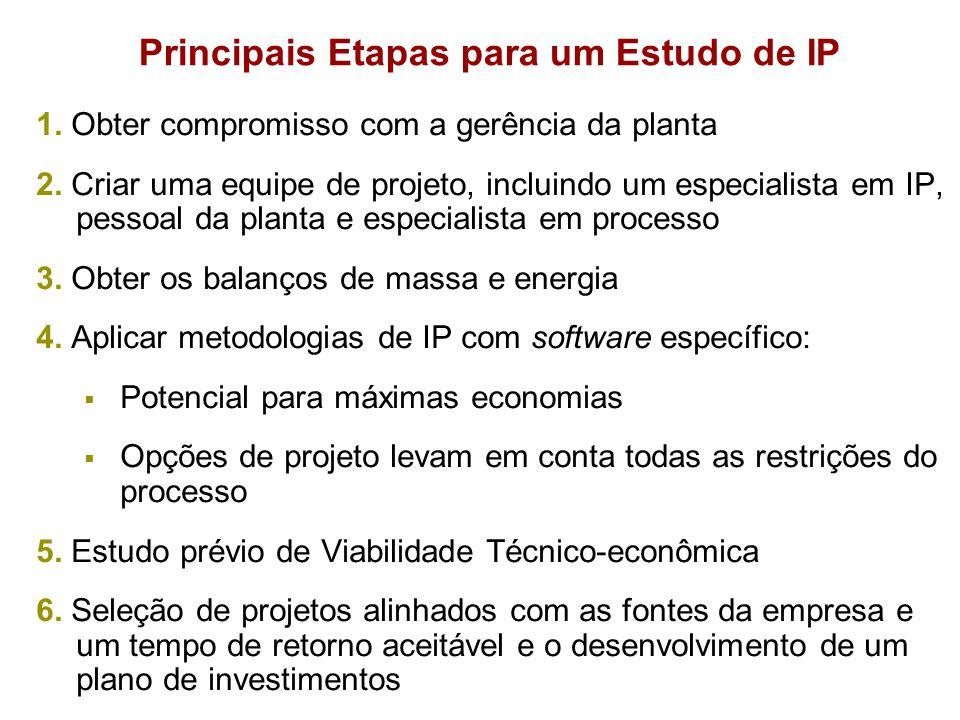 Principais Etapas para um Estudo de IP