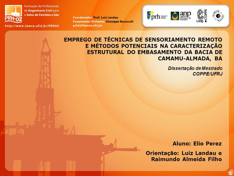 Orientação: Luiz Landau e Raimundo Almeida Filho