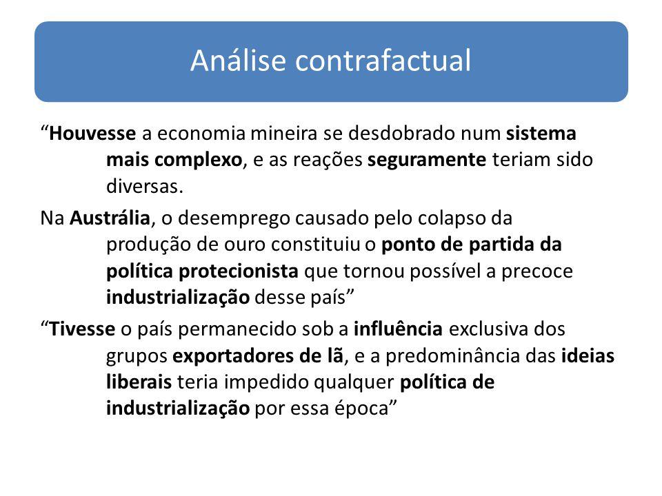 Análise contrafactual