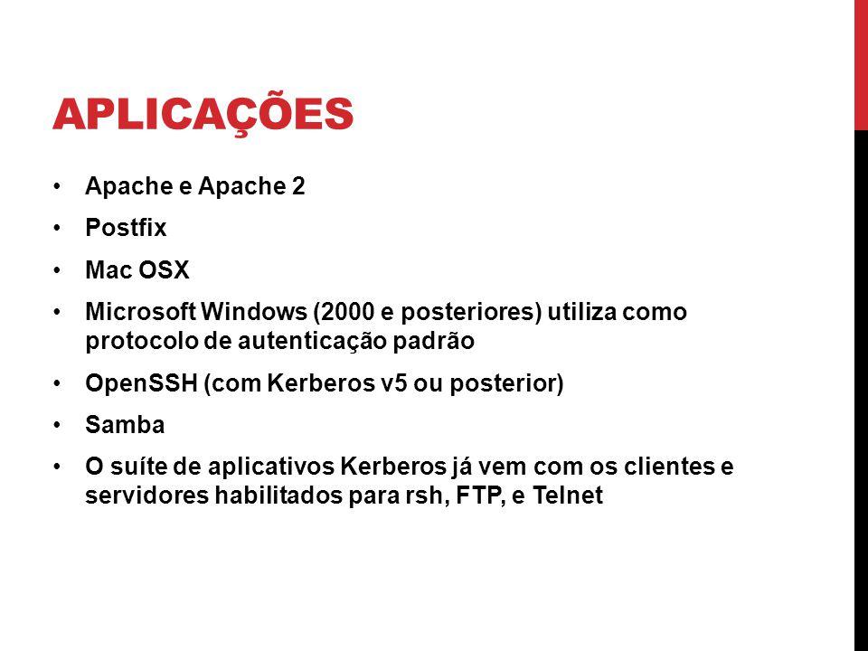 Aplicações Apache e Apache 2 Postfix Mac OSX