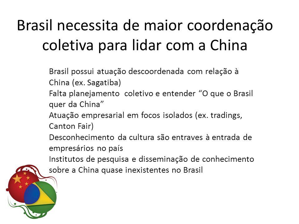 Brasil necessita de maior coordenação coletiva para lidar com a China