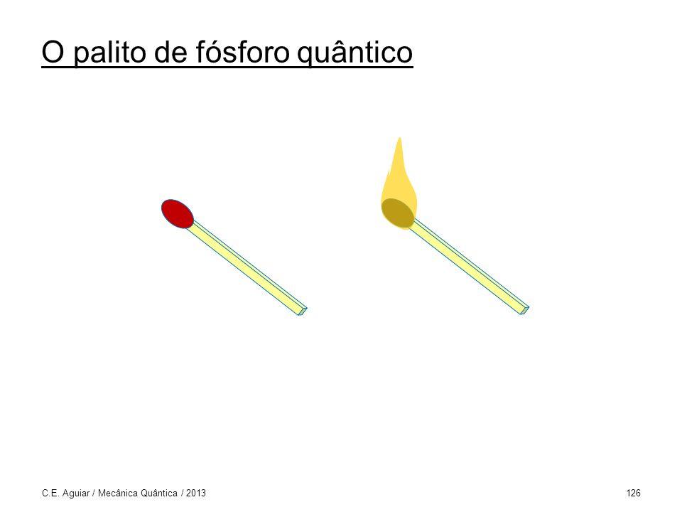 O palito de fósforo quântico