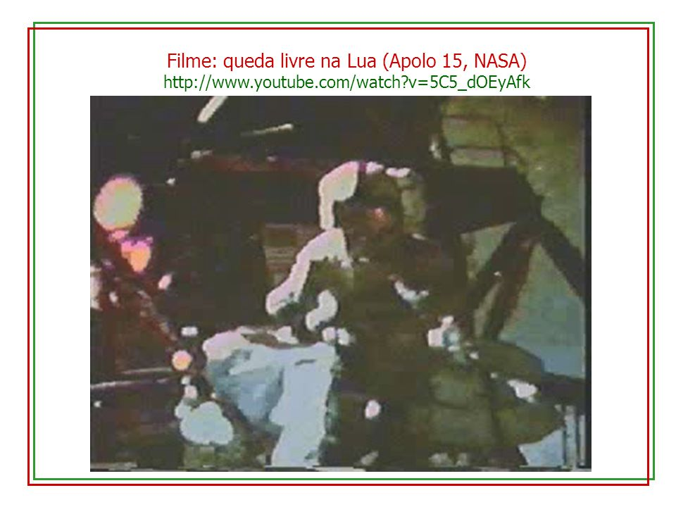 Filme: queda livre na Lua (Apolo 15, NASA)