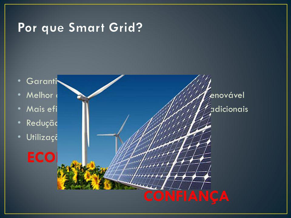 ECONOMIA MEIO AMBIENTE CONFIANÇA Por que Smart Grid