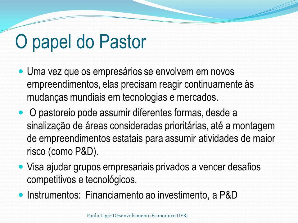 O papel do Pastor