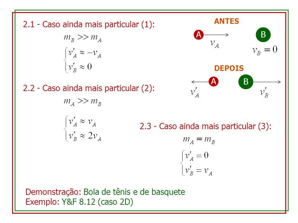 2.1 - Caso ainda mais particular (1): A B