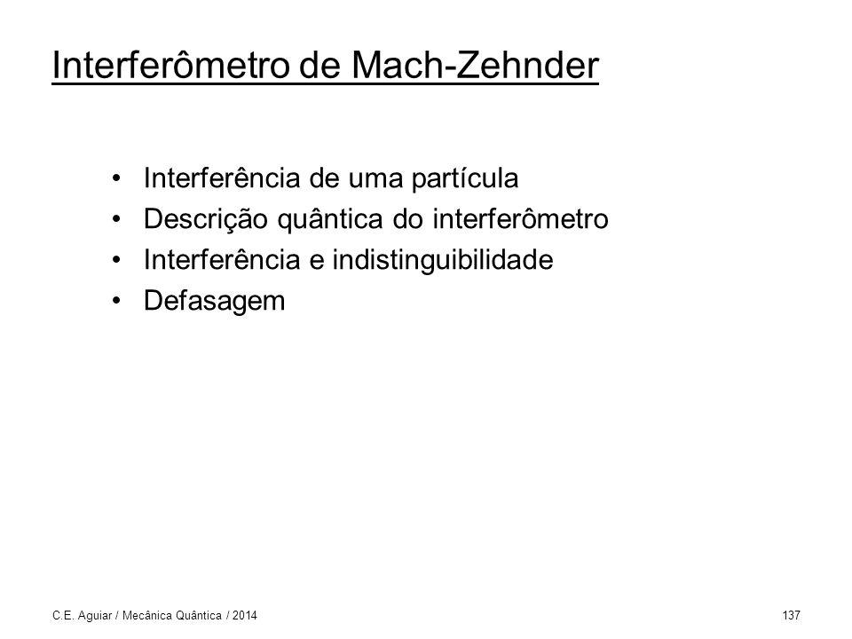 Interferômetro de Mach-Zehnder