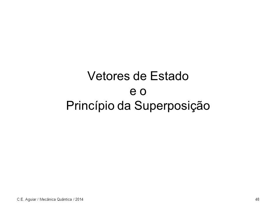 Vetores de Estado e o Princípio da Superposição