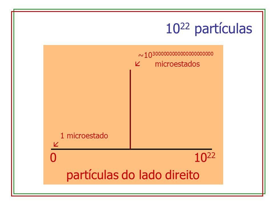 partículas do lado direito
