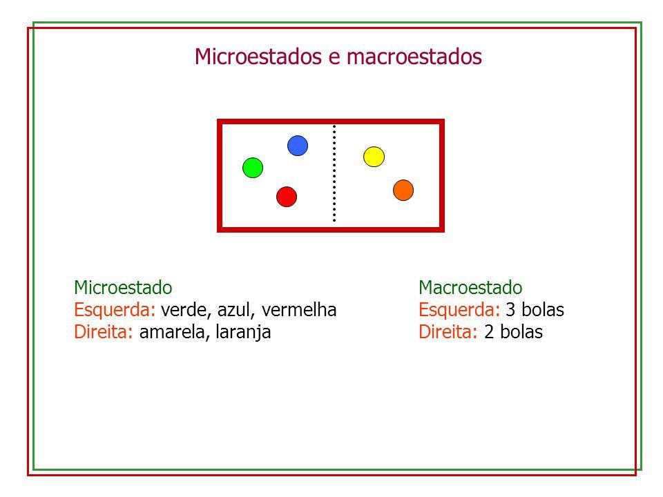 Microestados e macroestados