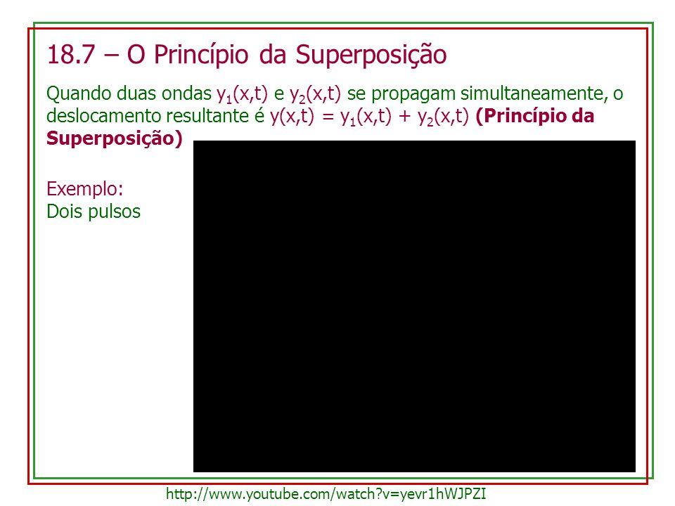18.7 – O Princípio da Superposição