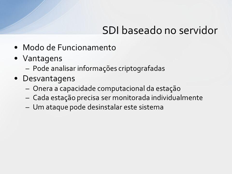 SDI baseado no servidor