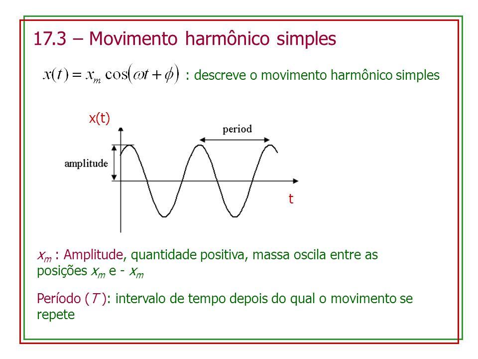 : descreve o movimento harmônico simples