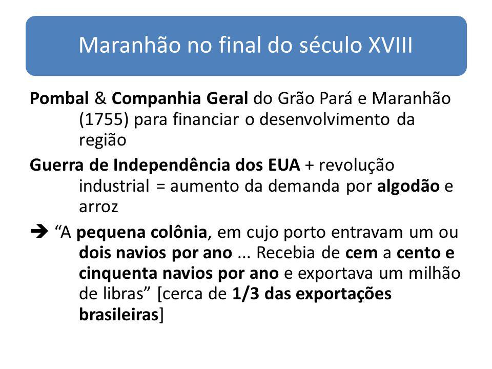 Maranhão no final do século XVIII