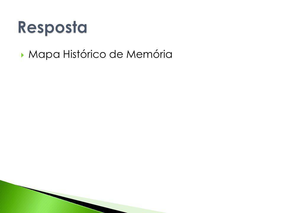 Resposta Mapa Histórico de Memória