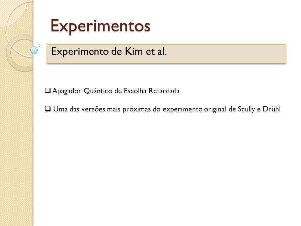 Experimento de Kim et al.