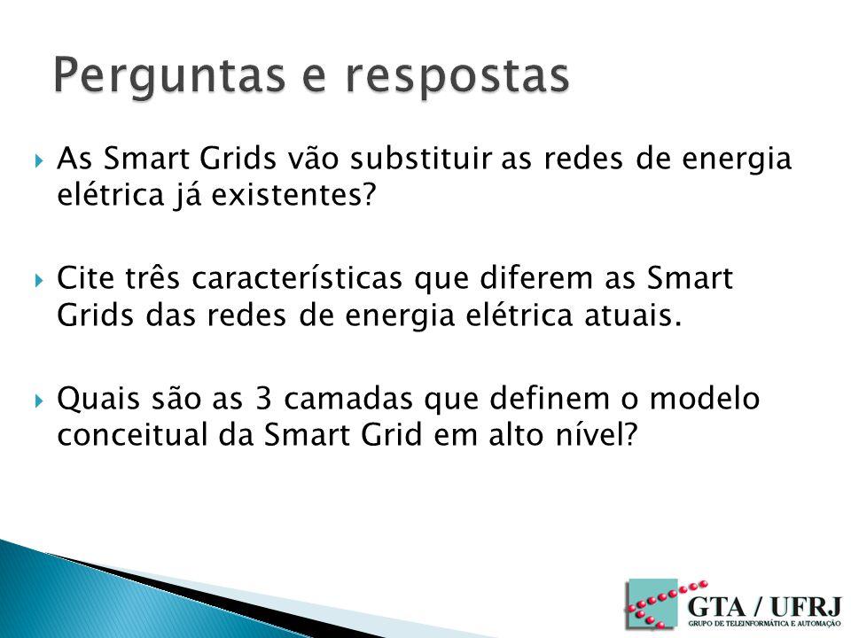 Perguntas e respostas As Smart Grids vão substituir as redes de energia elétrica já existentes