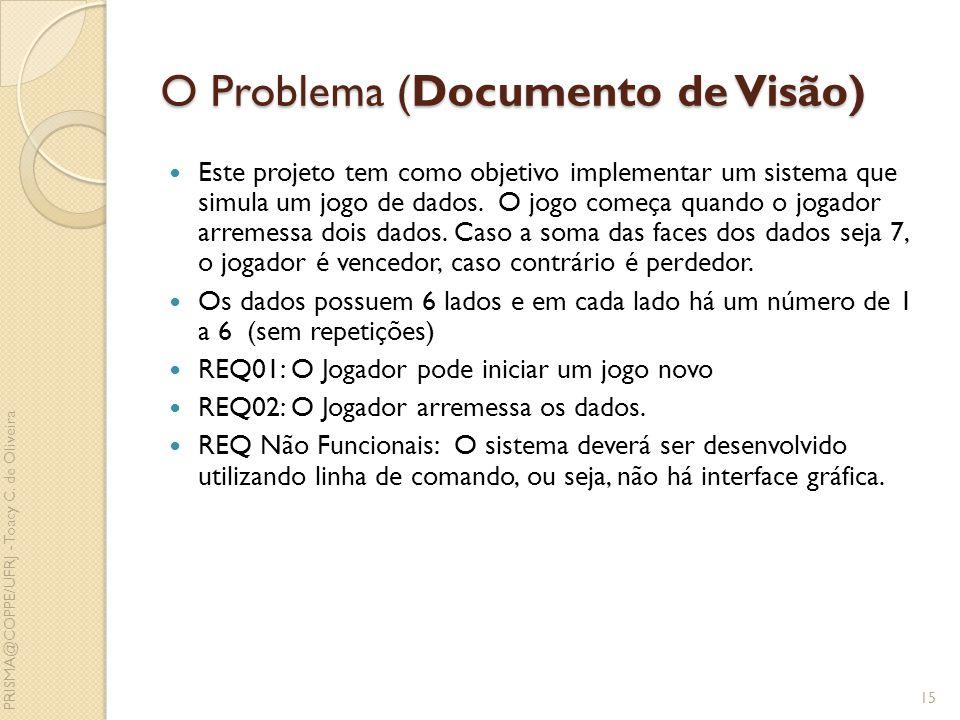 O Problema (Documento de Visão)