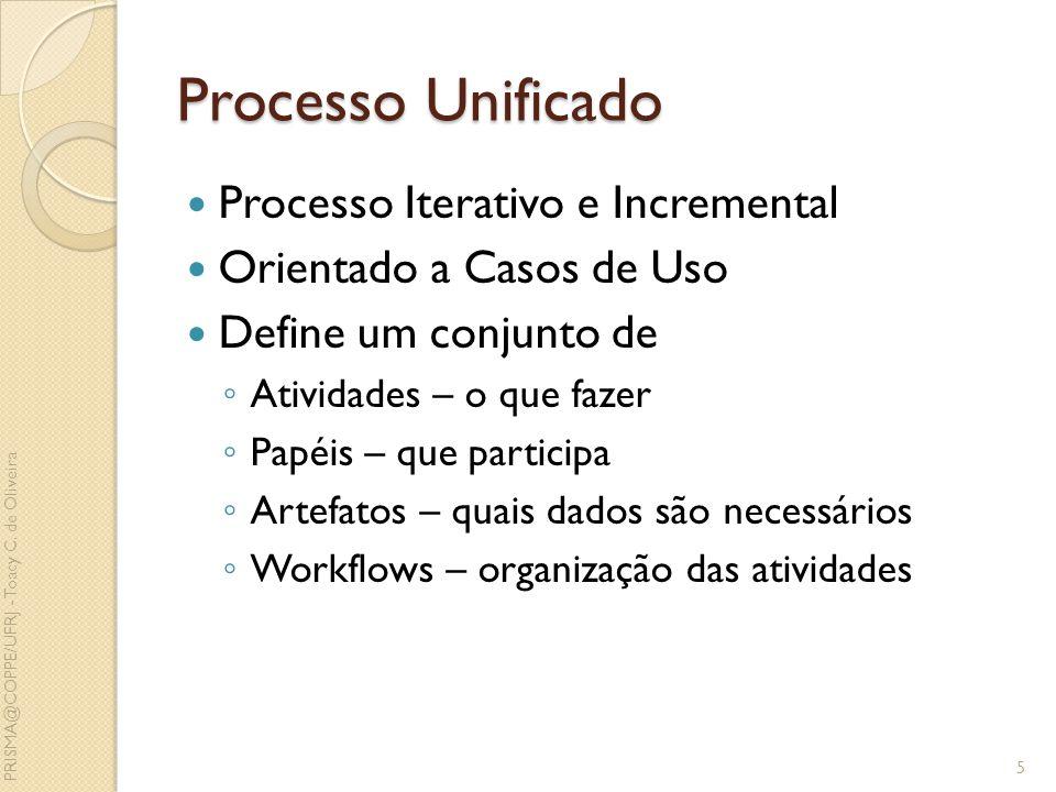 Processo Unificado Processo Iterativo e Incremental