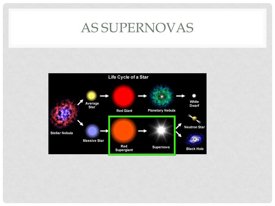 as supernovas
