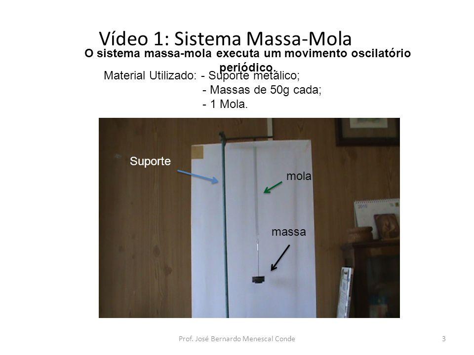 Vídeo 1: Sistema Massa-Mola
