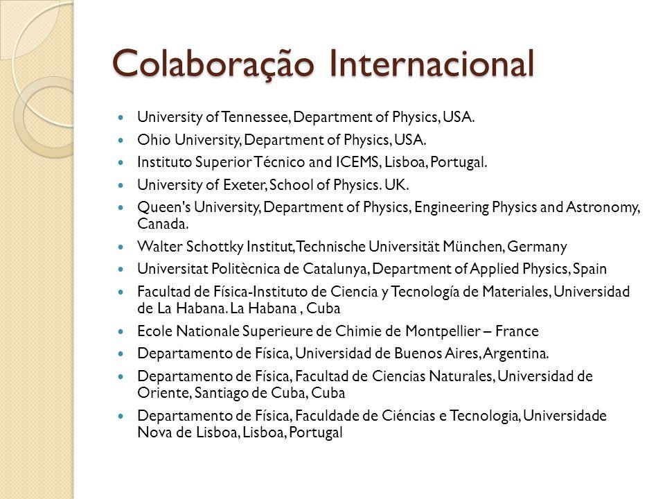 Colaboração Internacional