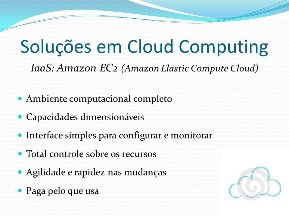 Soluções em Cloud Computing