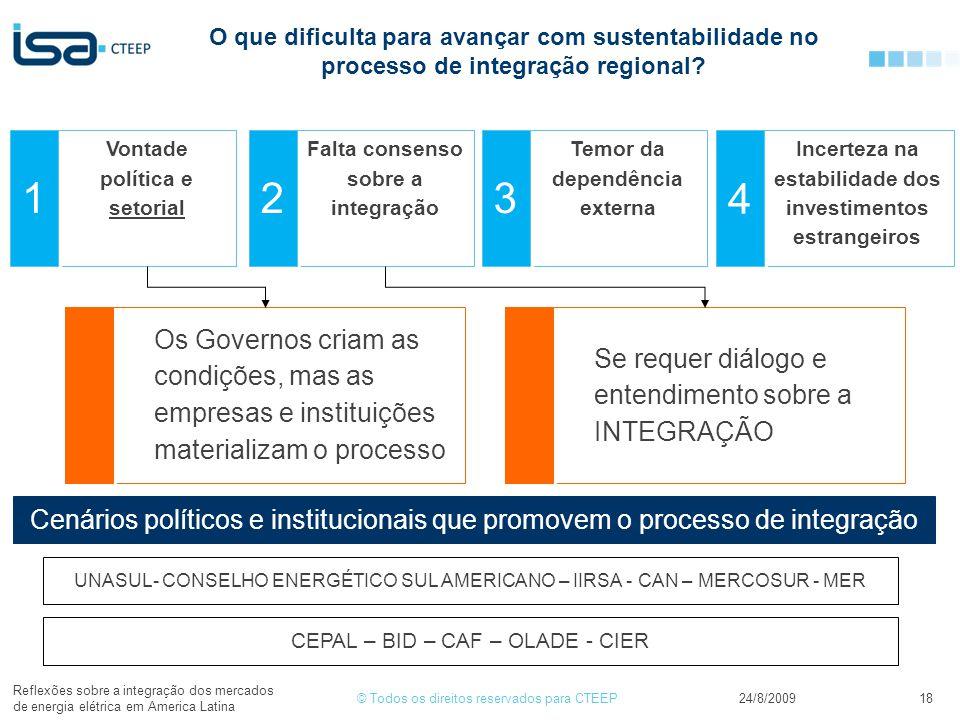 O que dificulta para avançar com sustentabilidade no processo de integração regional