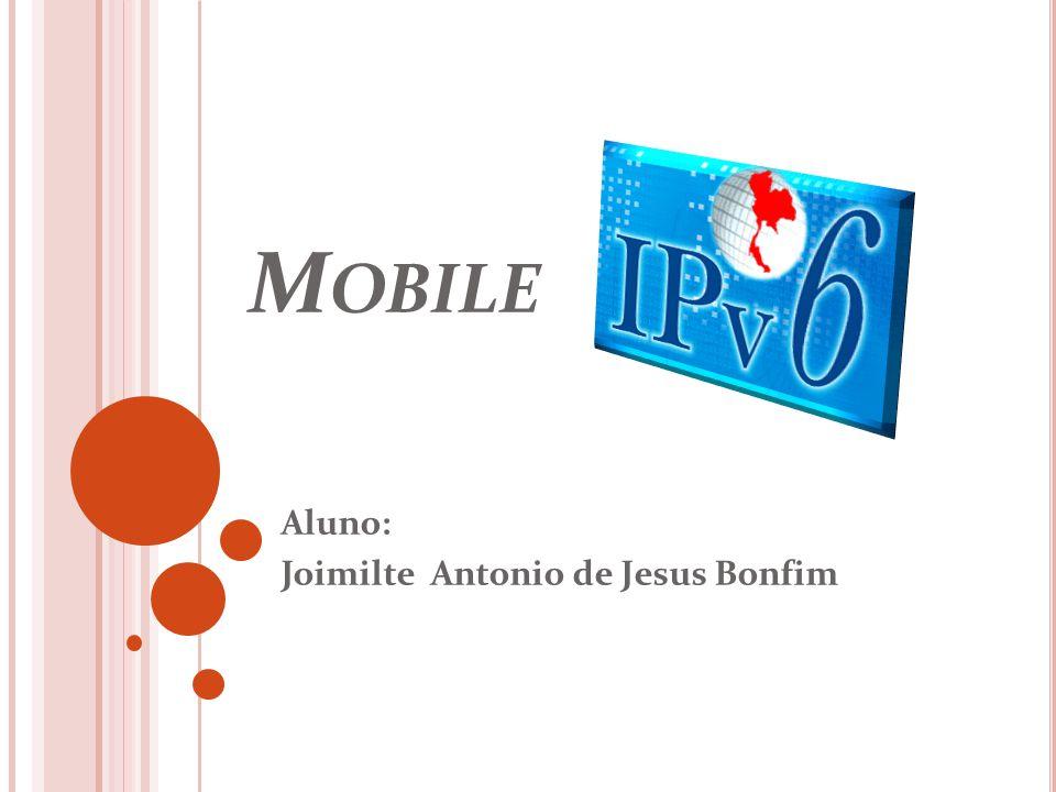 Aluno: Joimilte Antonio de Jesus Bonfim