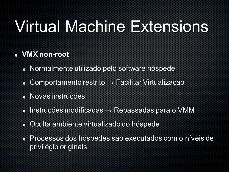 Virtual Machine Extensions