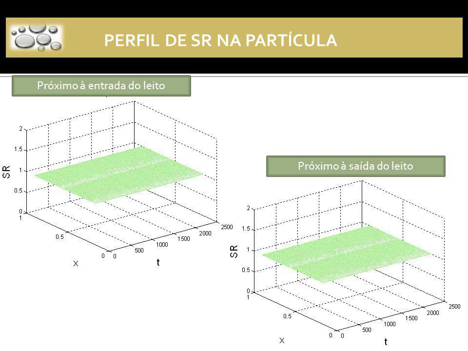 Perfil de SR na partícula