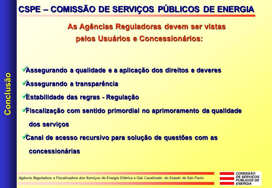 CSPE – COMISSÃO DE SERVIÇOS PÚBLICOS DE ENERGIA