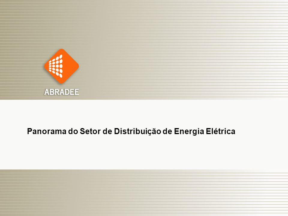 Panorama do Setor de Distribuição de Energia Elétrica
